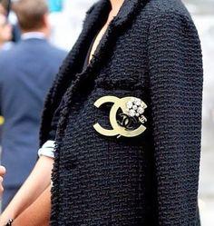 Chanel, pin, deco, jacket, inspiration, brooch,