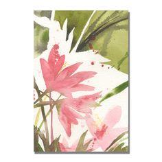 Trademark Fine Art Sheila Golden 'The Appearance of Spring' Canvas Art