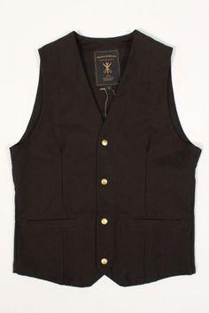 aacc7e2f8960 Wrenchmonkees Indoor Waistcoat Black