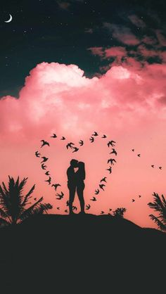 LOVE is the Way iPhone Wallpaper - iPhone Wallpapers I Phone 7 Wallpaper, Love Wallpaper Backgrounds, Iphone Wallpapers, Cute Couple Art, Cute Couple Pictures, Romantic Pictures, Love Photos, Love Couple Wallpaper, Love Wallpapers Romantic