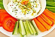 Salse e mousse vegan per aperitivo