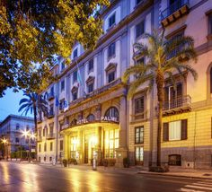 Grand Hotel Et Des Palmes in Palermo (Palermo Historical Center) is located minutes away from Piazza Politeama and Regional Archaeological Museum. This 4-star hotel is within close proximity of Teatro Politeama and Teatro Massimo. See Photos & Booking Options here http://www.lowestroomrates.com/avail/hotels/Italy/Palermo/Grand-Hotel-Et-Des-Palmes.html?m=p #Palermo