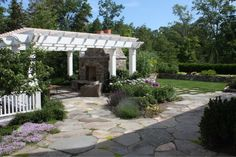 Hardscape, structure and landscape - in a well designed package.