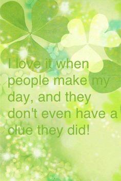 Honest friends make my day!