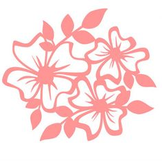 Silhouette Design Store - View Design #119900: spring flowers
