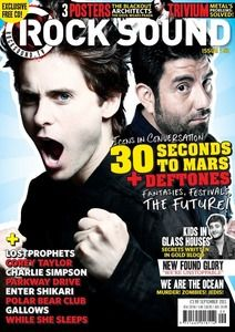 Rock Sound Issue 152 - 30 Seconds To Mars + Deftones - £3.99