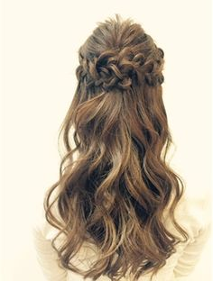 たさわ堂Amo ナチュラルハーフアップ Headband Hairstyles, Messy Hairstyles, Wedding Hairstyles, Elegant Hairstyles, Pretty Hairstyles, Bridal Hairdo, Graduation Hairstyles, Hair Arrange, Hair Setting