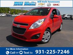 2014 *Chevrolet* *Chevy*  *Spark* *LT*  44k miles Call for Price 44863 miles 931-225-7246 Transmission: Automatic  #Chevrolet #Spark #used #cars #BillHoltChevroletBuickGMC #McMinnville #TN #tapcars