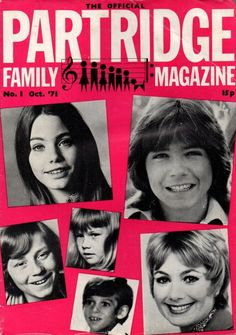 The Official Partridge Family Magazine No 1 October 1971 David Cassidy David Cassidy Daughter, Suzanne Crough, Jeremy Gelbwaks, Danny Bonaduce, Susan Dey, City Roller, Shirley Jones, Partridge Family, Old Shows