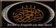 Bereket ve Zenginlik için ihlas Suresi Arabic Calligraphy, Arabic Handwriting, Arabic Calligraphy Art
