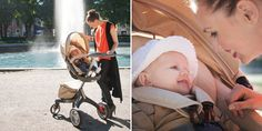OFFICIAL DEMO VIDEO: Stokke Xplory Stroller, the Ultimate Connection Stroller with a higher seat position that lifts baby closer to you.