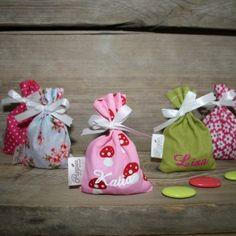 Doopsuiker Poppies - Doopsuikermand Poppie-Bag uit het thema Poppie-Bag