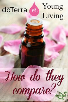 How do DoTerra and Young Living essential oils compare?