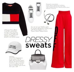 """""""18/08/2017"""" by riennise ❤ liked on Polyvore featuring Off-White, Alexander Wang, Hilfiger Collection, Dolce&Gabbana and Tek Gear"""