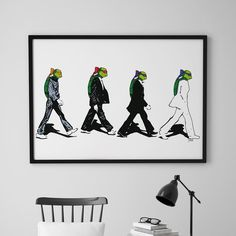 Is it The Beatles?No it is The Turtles. The Turtlesav @doltinterior / Plakatene har størrelse 50 x 70 cm og passer i standardrammer.