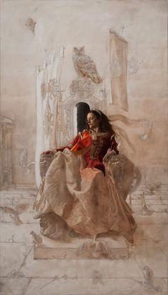 Masterpiece work in progress.  By Arantzazu Martinez.   Amazing...