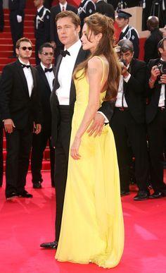 Brad Pitt Photos, Brad Pitt And Angelina Jolie, Palais Des Festivals, Billie Jean King, Strapless Dress Formal, Formal Dresses, Bradley Cooper, Photo L, Cannes Film Festival