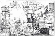 albert robida illustrations - Recherche Google