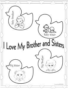 bothers makes up coloring pages - photo#26