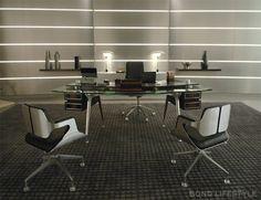 James Bond inspired Office