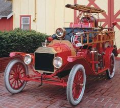 Ford trucks grew from a humble start in 1903 to the creation of an empire with the 1909 Ford Model T. Learn about the early years of Ford trucks. Lifted Ford Trucks, Chevy Trucks, Ford Motor Company, Wooden Toy Cars, Veteran Car, Fire Equipment, Rescue Vehicles, Fire Apparatus, Classic Trucks