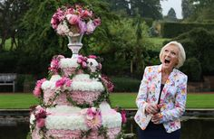 Her face when she opened this flower show. | 21 Times Mary Berry Was Actually Fucking Amazing