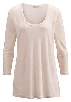 - Damen Shirt aus reinem Leinen Shirts, Tops, Sweaters, Fashion, Shell Tops, Linen Fabric, Cotton, Moda, La Mode