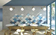 Pinkberry - Frozen Yogurt Shop   by Yellow Cloud Studio   Architecture & Design in Hackney