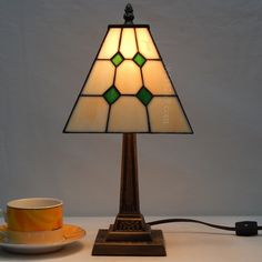 Grid Tiffany Lamp7S9-12T551