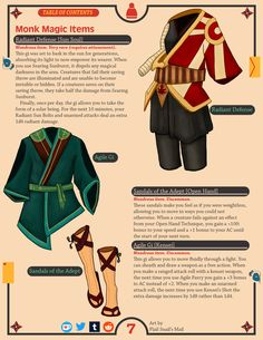 Dnd Dragons, Dungeons And Dragons Characters, D&d Dungeons And Dragons, Dnd Characters, Fantasy Characters, Fantasy Armor, Fantasy Weapons, Monk Dnd, Dungeon Master's Guide
