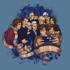 Doctor Who Selfie T-Shirt - ordered this from teefury, and it's dispatched! So it could come any day now, or week. It says to allow for two weeks (whaaaat) but yay! I left most at home (mainly because they were worn or baggy) and only brought two with me... This will make three :3