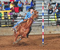 McKenzie Caldwell finishes pole bending competition - Gonzales ... Pole Bending, Rodeo, Competition, Horses, Google Search, Horse, Bull Riding, Rodeo Life