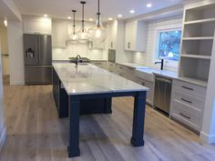 Just finished this custom kitchen and main floor renovation and we LOVE it Full House, My House, Choose The Right, Amazing Architecture, Calgary, Kitchen Remodel, Diy Home Decor, Kitchens, Sweet Home