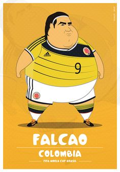 Fat Players | FIFA World Cup on Behance