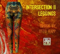 Printed Leggings, Montreal, Hug, Bag Accessories, Clothes For Women, Fabric, Prints, How To Wear, Fashion Design
