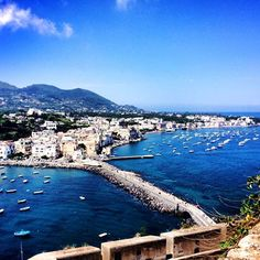 A beautiful day on Ischia in the Bay of Naples. Discover the delights of this incredible island with Messenger Travel #italy #italia #ischia #travel #messengertravel #bayofnaples #vacation #holiday