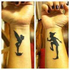 Shadows - 15 Great Disney Tattoos