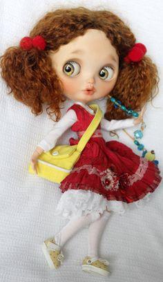 Mei OOAK Custom Blythe Doll by Meadowdoll por meadowdolls en Etsy