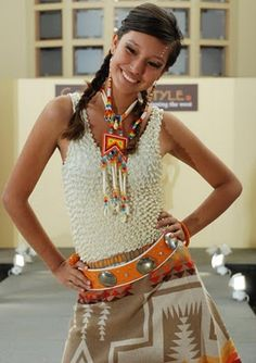 Pendleton Dress Native American Beadwork Pinterest Native Fashion Native Style And Fashion