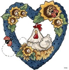 COUNTRY HEART CLIP ART