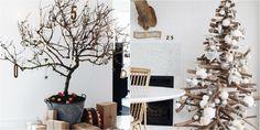 Increíbles ideas para árboles de Navidad alternativos