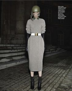 visual optimism; daily fashion fix.: la sentinelle: tosca dekker by paul empson for grazia france 12th october 2012