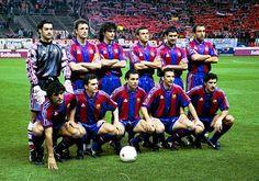 Equipos de fútbol: BARCELONA contra Atlético de Madrid 26/02/1997