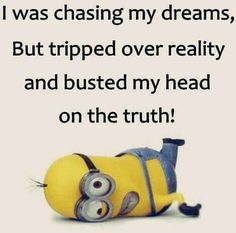 top 28 funny humor Minions, Quotes and -- Aww, that's not at all funny! Minion Humour, Funny Minion Memes, Minions Quotes, Funny Jokes, Minion Sayings, Funny Laugh, Funny Shit, Funny Stuff, Citation Minion