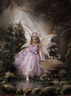 Elfen Diamond Painting Purple Tulle Fairy Kit Offered by Bonanza Marketplace. Beautiful Fantasy Art, Beautiful Gif, Beautiful Fairies, Beautiful Angels Pictures, Fairy Pictures, Angel Pictures, Fairy Photoshoot, Foto Fantasy, Fairy Photography
