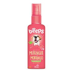 Perfume Beeps Cães e Gatos Merengue Morango - 120ml.