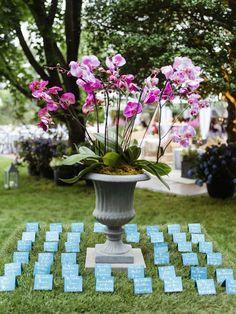 Hamptons Wedding, The Hamptons, Top Wedding Photographers, Photographer Wedding, Orchid Centerpieces, Sophisticated Wedding, Pink Orchids, Event Lighting, Martha Stewart Weddings
