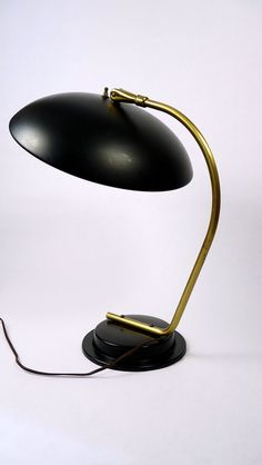 Mid-Century Modern Lightolier Desk Lamp by by modernspecific