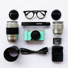 Weekend Essentials! #Fujifilm #XA2 #XSeries #5yearsofxseries #Weekend by fujifilmme