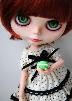 Blythe Mochi's  #macaron #blythe #doll